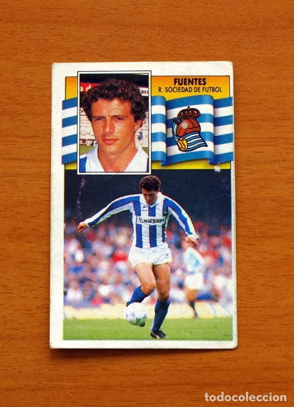 REAL SOCIEDAD - FUENTES - LIGA 1990-1991, 90-91 - EDICIONES ESTE (Coleccionismo Deportivo - Álbumes y Cromos de Deportes - Cromos de Fútbol)