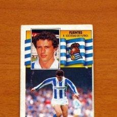 Cromos de Fútbol - Real Sociedad - Fuentes - Liga 1990-1991, 90-91 - Ediciones Este - 133622650