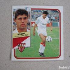 Cromos de Fútbol: ESTE 89 90 NANDO SEVILLA D 1989 1990. Lote 133676254