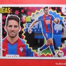 Cromos de Fútbol: ESTE 2018 2019 - 35 BIGAS - ULTIMOS FICHAJES - EIBAR - PANINI - 18 19. Lote 207288050