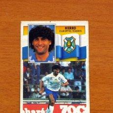 Cromos de Fútbol: TENERIFE - HIERRO - LIGA 1990-1991, 90-91 - EDICIONES ESTE . Lote 133693542