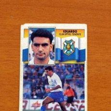 Cromos de Fútbol: TENERIFE - EDUARDO - LIGA 1990-1991, 90-91 - EDICIONES ESTE. Lote 133693606
