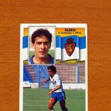 Cromos de Fútbol: ZARAGOZA - GLARIA - LIGA 1990-1991, 90-91 - EDICIONES ESTE - NUNCA PEGADO. Lote 133701126