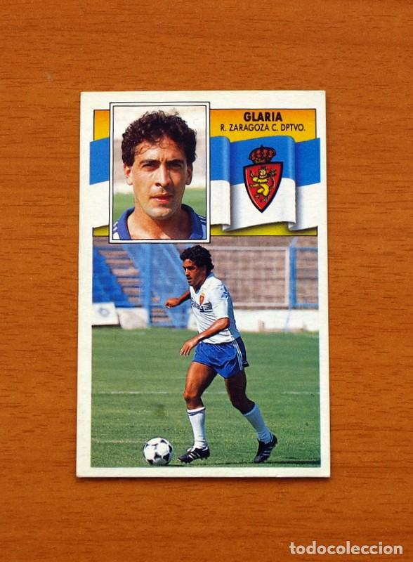 ZARAGOZA - GLARIA - LIGA 1990-1991, 90-91 - EDICIONES ESTE (Coleccionismo Deportivo - Álbumes y Cromos de Deportes - Cromos de Fútbol)