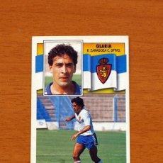 Cromos de Fútbol: ZARAGOZA - GLARIA - LIGA 1990-1991, 90-91 - EDICIONES ESTE . Lote 133701190