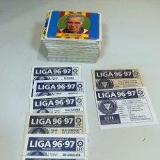 Cromos de Fútbol: ESTE 96/97 1996/1997 LOTE 141 CROMOS SIN REPETIR CONTIENE COLOCAS Y FICHAJES. Lote 133937214
