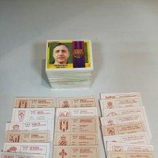 Cromos de Fútbol: ESTE 95/96 1995/1996 LOTE 187 CROMOS SIN REPETIR CON 8 COLOCAS Y 11 FICHAJES. Lote 134039294