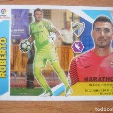 Cromos de Fútbol: ESTE 2017 2018 PANINI 1 ROBERTO (MALAGA) SIN PEGAR - CROMO FUTBOL LIGA 17 18. Lote 194621285