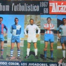 Cromos de Fútbol: LOTE 100 CROMOS INDIVIDUALES ALBUM FUTBOLISTICO EL ALCAZAR. 1968 SE VENDEN SUELTOS A 1 EURO UNIDAD. Lote 134146602