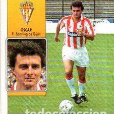 Cromos de Fútbol: LIGA 92/93. OSCAR. REAL SPORTING DE GIJON. EDICIONES ESTE. NUEVO SIN PEGAR.. Lote 134162118