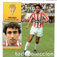 Cromos de Fútbol: LIGA 92/93. ABELARDO. REAL SPORTING DE GIJON. EDICIONES ESTE. NUEVO SIN PEGAR.. Lote 134162250