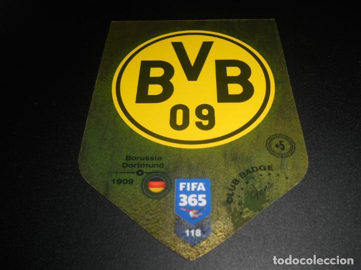 118 Escudo Logo Club Badge Borussia Dortmund Ca Kaufen Alte Fussball Sticker In Todocoleccion 134250954