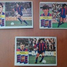 Cromos de Fútbol: CROMO BARÇA BARCELONA CON FCB MARCOS EDICS ESTE 82 83 1982 1983 DESPEGADO FUTBOL LIGA. Lote 134361166