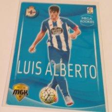 Cromos de Fútbol: MEGACRACKS - LUÍS ALBERTO - ( MEGA ROOKIES 2015/2016 ) . Lote 134362050