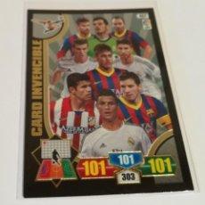 Cromos de Fútbol: ADRENALYN - CARD INVENCIBLE ( TEMPORADA 2013/2014 ) . Lote 134363958