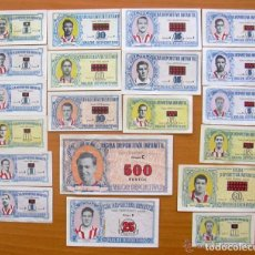 Cromos de Fútbol: ATLETICO DE MADRID - FICHA DEPORTIVA INFANTIL 1943-1944, 43-44 - 20 CROMOS. Lote 134557690