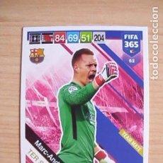 Fußball-Sticker - 52 Marc-André Ter Stegen (Barcelona) Cromo Panini FIFA 365 Adrenalyn 2018-2019 (18-19) - 148437804