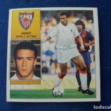Cromos de Fútbol: 92/93 ESTE. COLOCA SEVILLA BANGO COMO NUNCA PEGADO. LEER. Lote 134899302