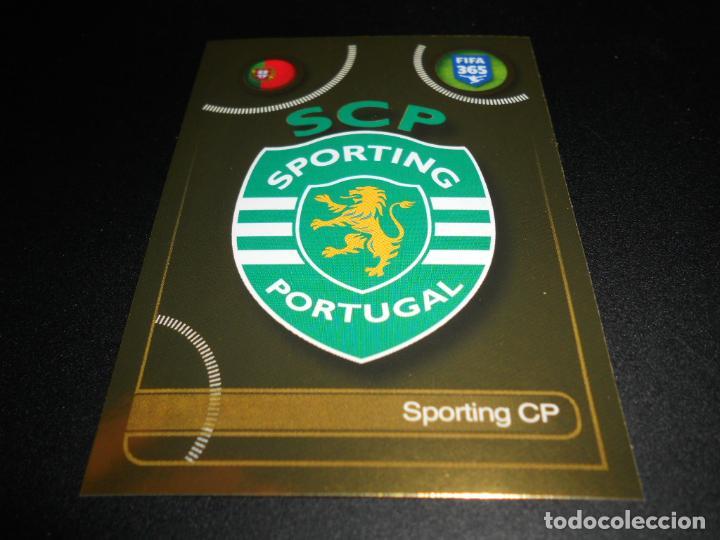 Nº 37 Panini Fifa 365 2017-Sporting CP insignia Sporting CP