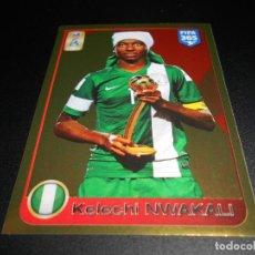 Cromos de Fútbol: 213 KELECHI NWAKALI NIGERIA STICKER CROMOS ALBUM FIFA 365 2016 2017 16 17 PANINI. Lote 135271646