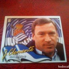 Cromos de Fútbol: CLEMENTE REAL SOCIEDAD ED ESTE 00 01 CROMO FUTBOL LIGA 2000 2001 - SIN PEGAR - 511. Lote 135316682