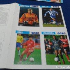 Cromos de Fútbol: LOTE CROMOS 8 FICHAS ONZE ( 2003 ) GREGORINI, MAKAAY, EMRE, MAOULIDA, DROGBA, SANTOS, LJUNGBERG,.... Lote 135373270