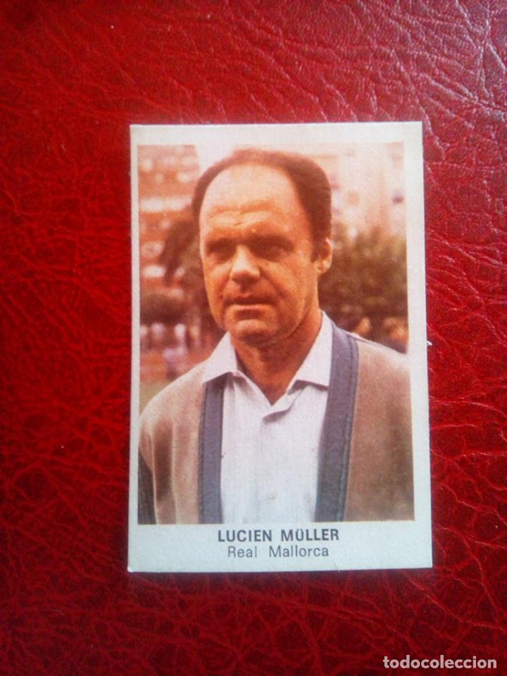 LUCIEN MULLER MALLORCA ED CANO 83 84 CROMO FUTBOL LIGA 1983 1984 - DESPEGADO - 728 (Coleccionismo Deportivo - Álbumes y Cromos de Deportes - Cromos de Fútbol)