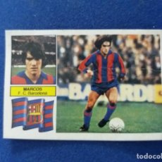 Cromos de Fútbol: 82/83 ESTE. BARCELONA SIN FCB MARCOS VERSION PINTADA DIFÍCIL. Lote 95703051