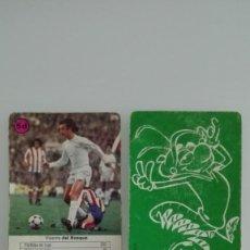 Cromos de Fútbol: VICENTE DEL BOSQUE MUNDIAL DE ESPAÑA 1982. Lote 135603946
