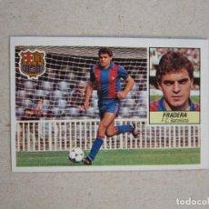 Cromos de Fútbol: ESTE 84 85 FICHAJE Nº 33 FRADERA BARCELONA D 1984 1985. Lote 135621014