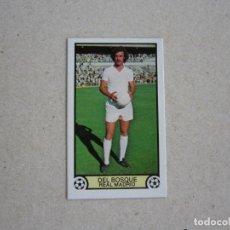 Cromos de Fútbol: ESTE 79 80 DEL BOSQUE REAL MADRID D 1979 1980. Lote 135836078