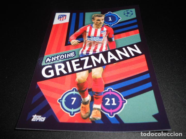 Topps Champions League 18//19 Sticker 25 Antoine Griezmann