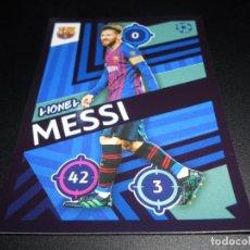 Cromos de Fútbol: 6 LIONEL MESSI FC BARCELONA CROMOS STICKERS UEFA CHAMPIONS LEAGUE TOPPS 18 19 2018 2019. Lote 178675101