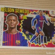 Cromos de Fútbol: CROMO Nº 4 A NELSON SEMEDO (F.C. BARCELONA) LIGA 18-19 (2018 2019) ÁLBUM ESTE. Lote 148246080