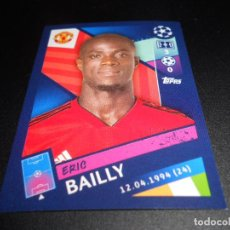 Cromos de Fútbol: 182 ERIC BAILLY MANCHESTER UNITED CROMOS STICKERS UEFA CHAMPIONS LEAGUE TOPPS 18 19 2018 2019. Lote 150802194