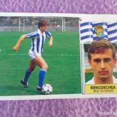 Cromos de Fútbol: REAL SOCIEDAD - BENGOECHEA - COLOCA - EDICIONES ESTE 1986-1987, 86-87. Lote 136191298
