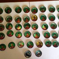 Cromos de Fútbol: CHAPAS COCA COLA SELECCIÓN ESPAÑOLA 1996/1997 COMPLETA. Lote 136265108