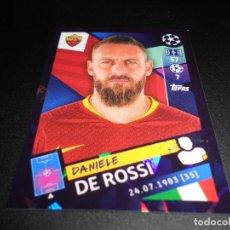 Cromos de Fútbol: 271 DANIELE DE ROSSI AS ROMA CROMOS STICKERS UEFA CHAMPIONS LEAGUE TOPPS 18 19 2018 2019. Lote 136278114