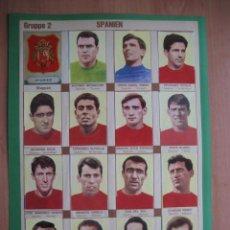 Cromos de Fútbol: 1966 FUTBOL: SELECCION NACIONAL ESPAÑA - CAMPEONATO MUNDIAL INGLATERRA 66 + DVD NUEVO DE LA FINAL. Lote 136397154