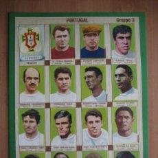 Cromos de Fútbol: 1966 FUTBOL: SELECCION NACIONAL PORTUGAL - EUSEBIO - MUNDIAL INGLATERRA 66 + DVD NUEVO DE LA FINAL . Lote 136397642