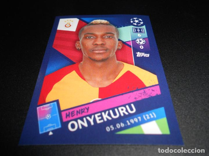 Henry Onyekuru Topps Champions League 18//19 Sticker 475