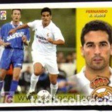 Cromos de Fútbol: EDICIONES ESTE 2002/2003 - FERNANDO ( COLOCA Y BAJA ) - REAL MADRID. 02/03. Lote 262797175