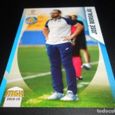 Cromos de Fútbol: CORREGIDO MGK 238 JOSE BORDALAS GETAFE CROMOS ALBUM MEGACRACKS LIGA FUTBOL 2018 2019 18 19. Lote 138972132
