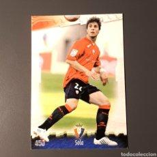 Cartes à collectionner de Football: (C-A06) MUNDICROMO FICHAS LIGA 2008 2009, 08 09 - (OSASUNA) N°450 SOLA. Lote 136827701