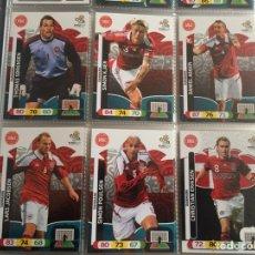 Cromos de Fútbol: LOTE 12 CROMOS DINAMARCA (COMPLETO) ADRENALYN XL EURO 2012. Lote 137113881