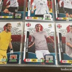 Cromos de Fútbol: LOTE 15 CROMOS INGLATERRA (COMPLETO) ADRENALYN XL EURO 2012. Lote 137114510