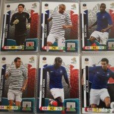 Cromos de Fútbol: LOTE 15 CROMOS FRANCIA (COMPLETO) ADRENALYN XL EURO 2012. Lote 137115162