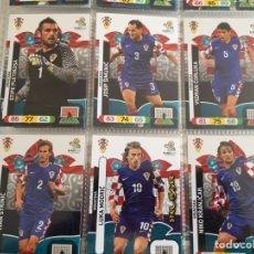 Cromos de Fútbol: LOTE 12 CROMOS CROACIA (COMPLETO) ADRENALYN XL EURO 2012. Lote 137115622