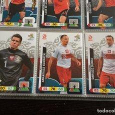 Cromos de Fútbol: LOTE 12 CROMOS POLONIA (COMPLETO) ADRENALYN XL EURO 2012. Lote 137116369