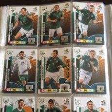 Cromos de Fútbol: LOTE 12 CROMOS IRLANDA (COMPLETO) ADRENALYN XL EURO 2012. Lote 137116762